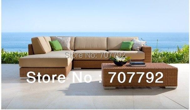 2017 New Design Outdoor Furniture PE Vine Wicker Sofa Setting Group - Online Get Cheap Outdoor Setting Furniture -Aliexpress.com