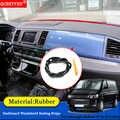 Bandes d'étanchéité pour pare-brise de tableau de bord de voiture Anti-bruit insonorisé Anti-poussière pour Volkswagen Multivan T5 T6 2012-2018