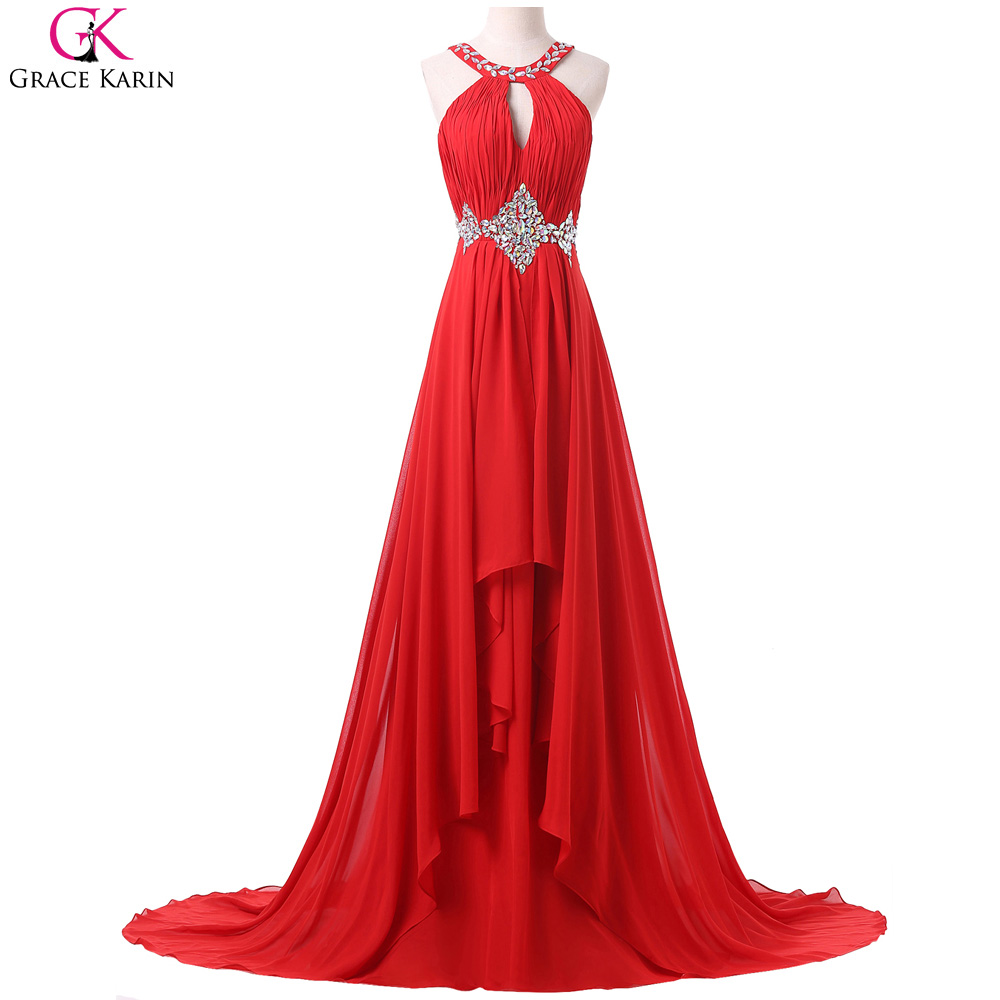 Red Backless Prom Promotion-Shop for Promotional Red Backless Prom ...
