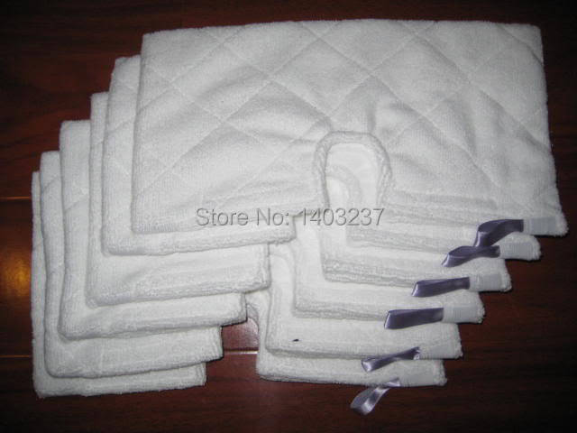 8 pcs Replacement RECTANGLE Pad for Shark Pocket Steam Mop S3501 S3601 S3901 S3501 steam mop for shark sk410 460 replacement pads for shark steam mop microfiber machine washable cloths 10pcs