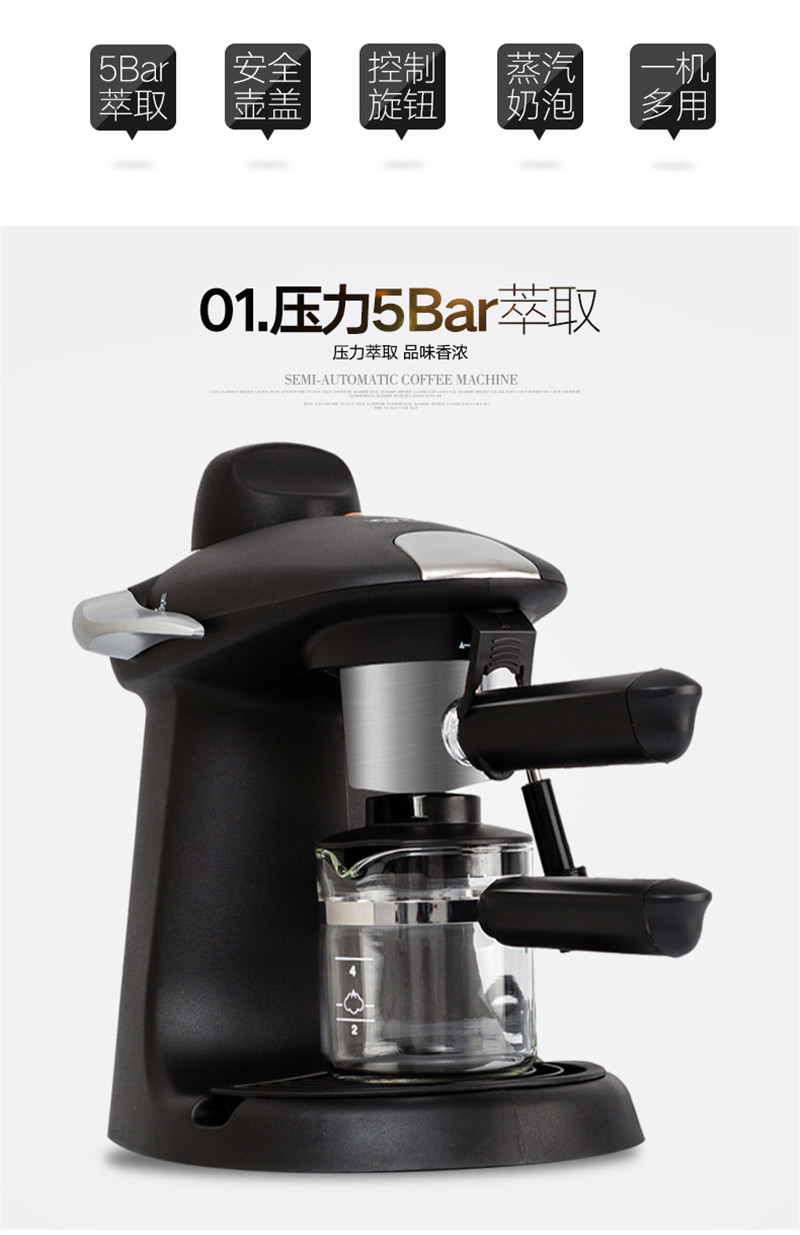 цена на TK-184-10,Free shipping,coffee machine ,household pumped semi automatic coffee maker espresso high pressure steam coffee machine