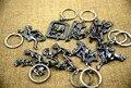 Móveis Homens-Mulheres Shinning fazer amor Liga Chave anel chave Da Cadeia de sexo individualidade