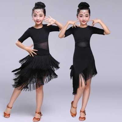 Платье для латинских танцев, большие размеры