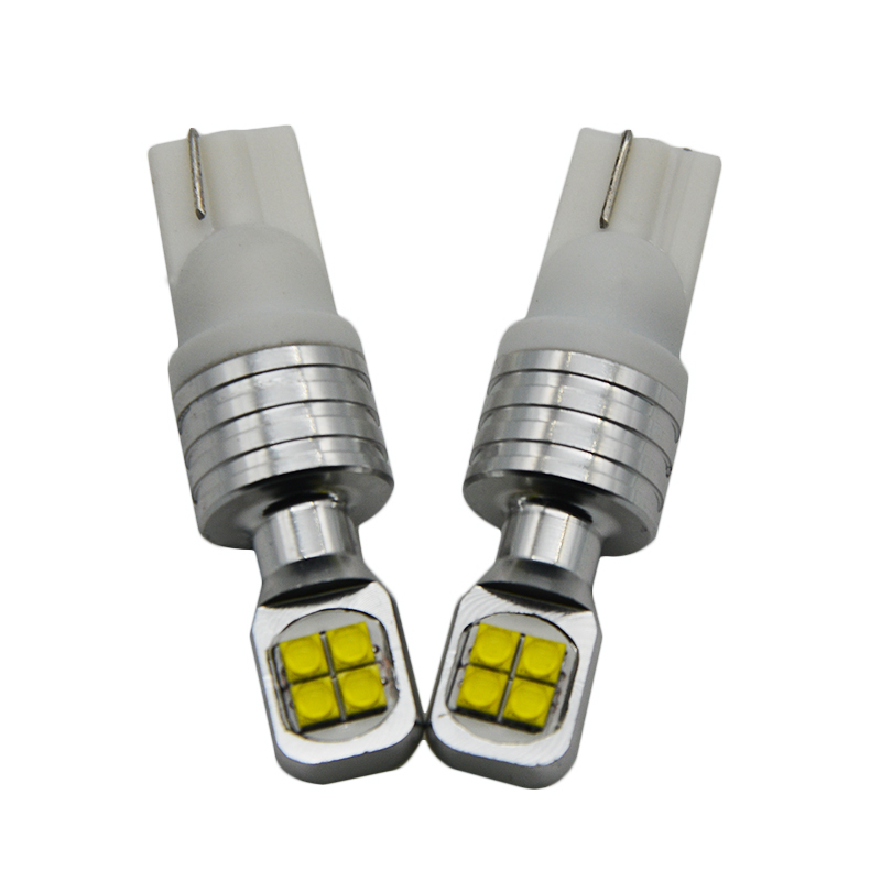 2pcs T10 W5W 194 canbus No Error Free auto car Lamp Light bulbs for ford kuga fusion fiesta mondeo focus 1 3 2