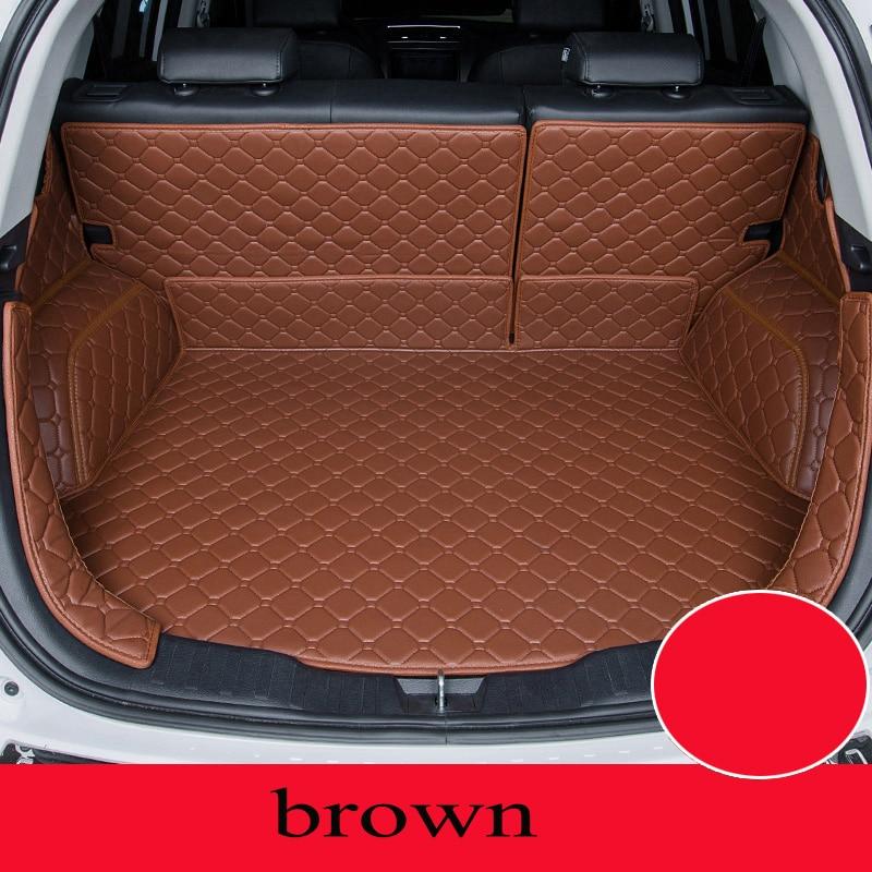 Personnalisé tapis de voiture tronc pour Land Rover Tous Les Modèles découverte 4 3 freelander 2 evoque voiture style accessoires de voiture personnalisé cargo liner