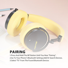 Active Noise Wireless Bluetooth Headphones