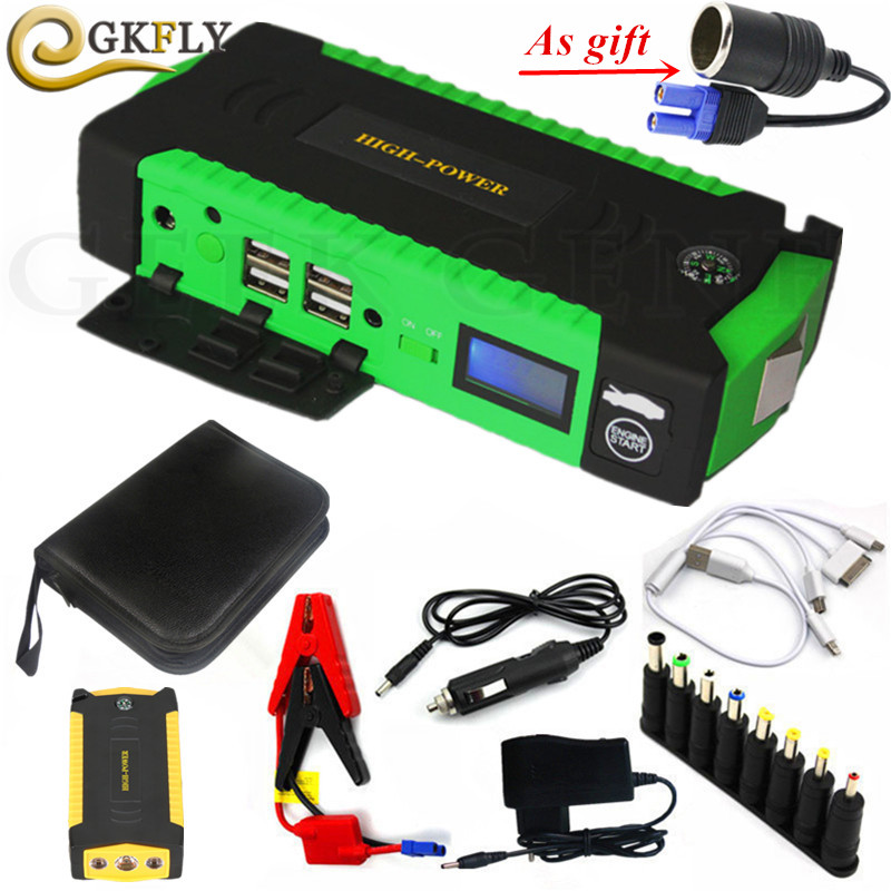 High Quality Petrol Diesel Starting Device Car Battery Charger 600A Portable Battery Starter 12V Charger For Car Battery Booster