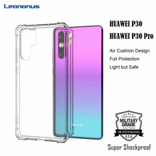 Military Grade Shockproof Phone Case for Huawei P30 Pro Soft Silicone P20 Lite Air Cushion Cover