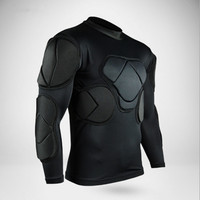 professional goalkeeper uniforms soccer jerseys futebol training football thicken EVA sponge shirt maillot de foot voetbalshirts