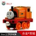 Diecast Thomas e Amigos de Metal Trem Trem de Brinquedo Do Tanque de Uma Peça Megnetic BILLY Trackmaster Motor de Brinquedo Para Crianças Crianças