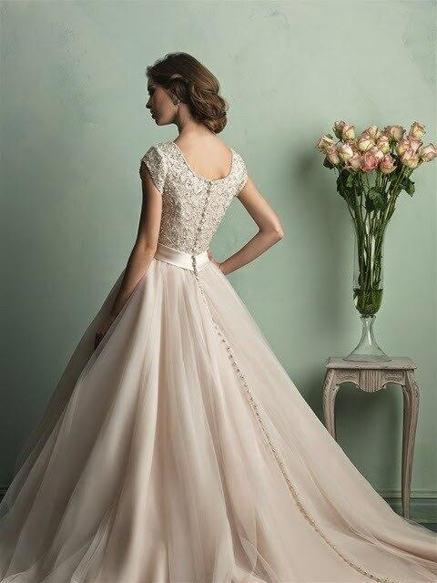 Celebrity Wedding Dress Jessa Duggar Luxury Beaded Princess Wedding Gown With Chapel Train Jw221 Gown Dress Gowns Chinagown Glove Aliexpress