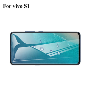 Image 2 - Full Cover Tempered Glass For Vivo S1 Screen Protector protective film For Vivo S1 glass