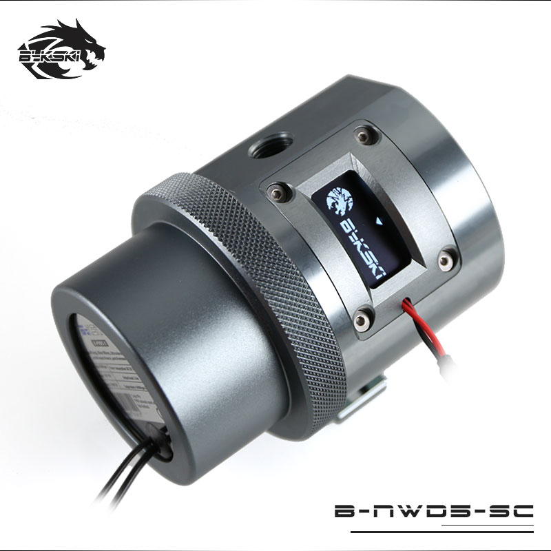 Bykski B NWD5 SC Water Cooling Pump with Temperature Sensor Display D5 MCP655 1100L 1500 3