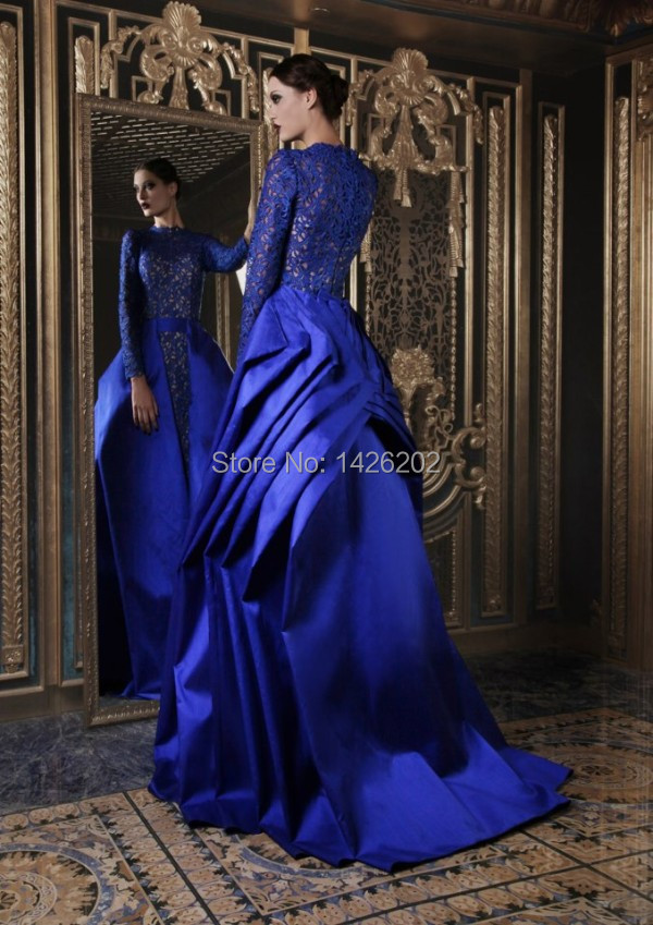 Aliexpress.com : Buy Luxury ball gown pleated satin train lace ...