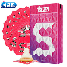10pcs/lot condom sex Mingliu big particle 3D dotted ribbed G-spot tight condoms for men Contraception intimate penis sleeve