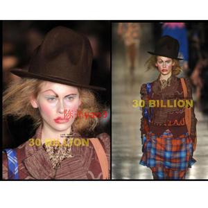 67f5aedfb22 sunlynn Gobi Buffalo Hat  fedora hats 100% wool bowler hats