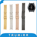 20mm Faixa de Relógio de Aço Inoxidável + Pinos de Liberação Rápida para samsung gear s2 classic sm-r732/r735 substituição da correia de pulso pulseira
