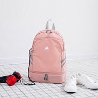 2019 Girls Pink Backpack Women Drawstring Backpacks Students School Bags For Boys Clothes Packing Cubes Waterproof Beach Bag New