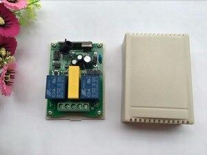 Image 2 - המאה AOKE AC 220 V מנוע דלת מוסך & מסך הקרנה & תריסים RF מתג שלט רחוק אלחוטי תצוגה דיגיטלית מסך
