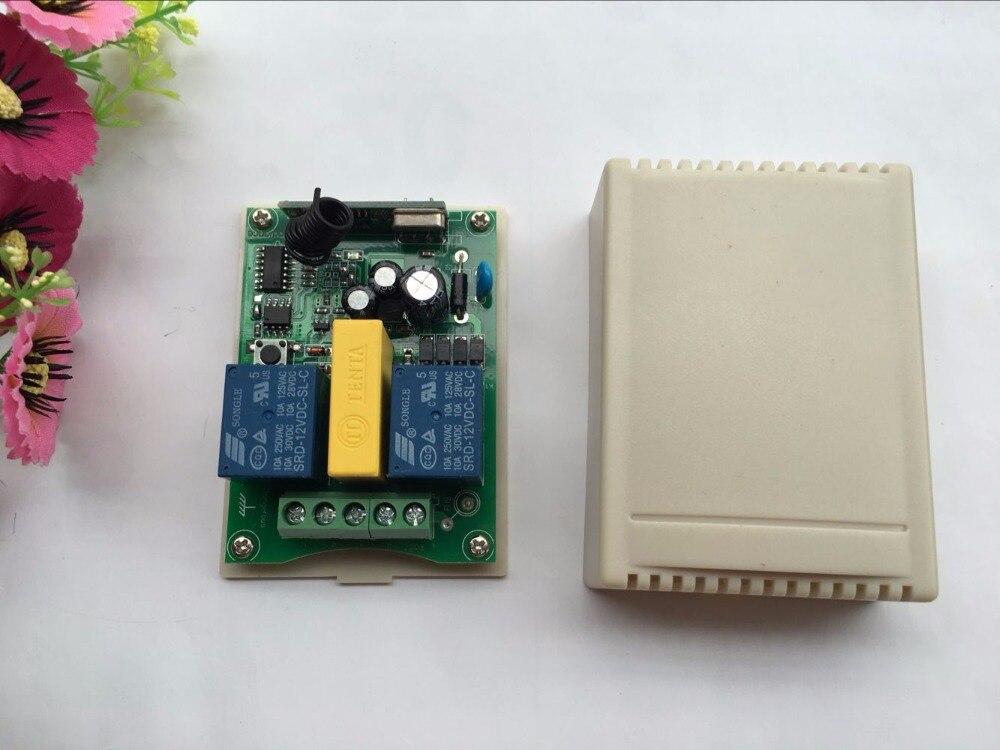 Image 2 - CENTURY AOKE AC 220V мотор двери гаража и проекционный экран и жалюзи RF беспроводной пульт дистанционного управления переключатель цифровой дисплей экранrf doorscreen switch220v wireless control switch  АлиЭкспресс