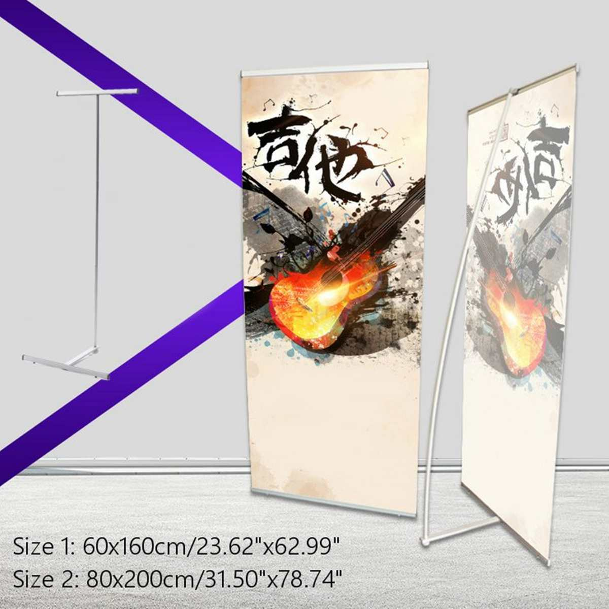 Aluminum Alloy Advertising Stand Frame Telescopic Display Rack Holder Exhibition Wedding Backdrop Banner Trade Show Decoration