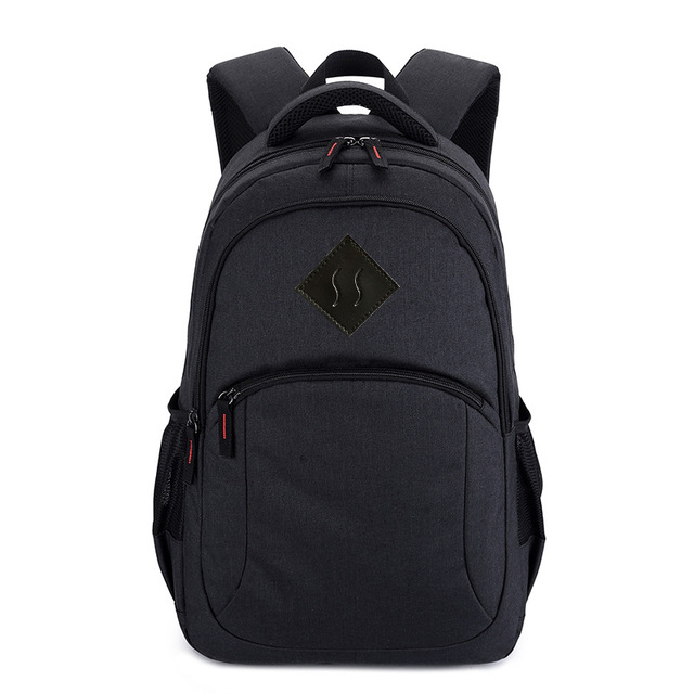0ef6a7ce32 Casual waterproof Oxford Men Backpack Travel 15.6 inch Laptop Bag College  School Back Bag for Teenage Teens Boys