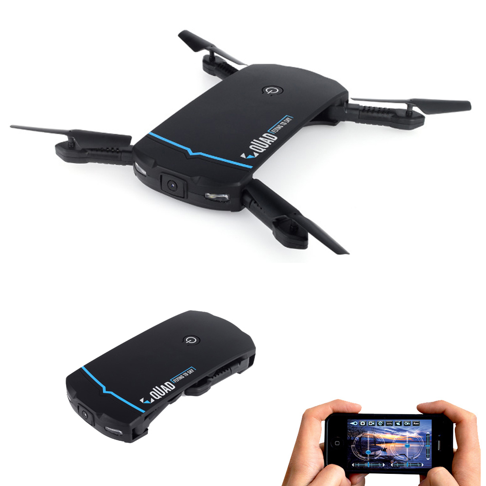 Pocket Drone MiNi Foldable Selfie Drone with HD Camera Drones WiFi FPV Quadcopter RC Helicopter One Key Return Dron Vs E56 H47