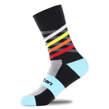 2018 High Quality Brand Sport Socks Compressprint Professional Breathable Road Bicycle Socks Outdoor Sports Racing Cycling Socks все цены