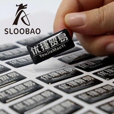 Free shipping 1000pcs Customized Various Decorative Custom 3d Self Adhesive Crystal epoxy sticker