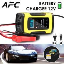 Автомобиль батарея зарядное устройство 110VTo220V полный автоматический Смарт быстрый для авто мотоцикл LeadAcid батареи зарядки Инт