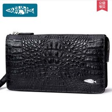 yuanyu 2017 new hot free shipping real Thai crocodile men clutches high-grade business men day clutche  imported men long wallet