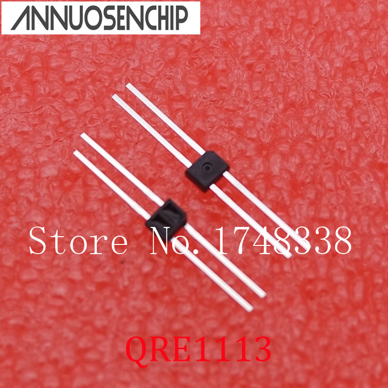 50PCS QRE1113 SENSOR REFL 5MM PHOTOTRANS TO92 NEW 20pcs z0103ma z0103 to92