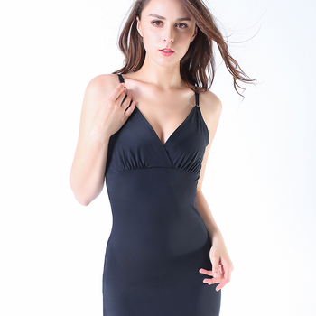 Coloriented 2019 July New bodysuits shaping Vest Seamfree corset sling Camisole Ice Silk Lingeries Shapers Women's Intimates 3