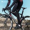 Santic новые мужские зимние велосипедные брюки 4D с подкладкой  длинные штаны для велосипеда  теплые флисовые штаны для горного велосипеда