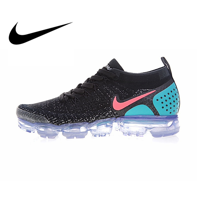 wholesale dealer 2e0c4 d0a3a Original NIKE AIR VAPORMAX FLYKNIT 2.0 Authentic Mens Running Shoes Sport  Outdoor Sneakers Breathable durable Athletic 942842