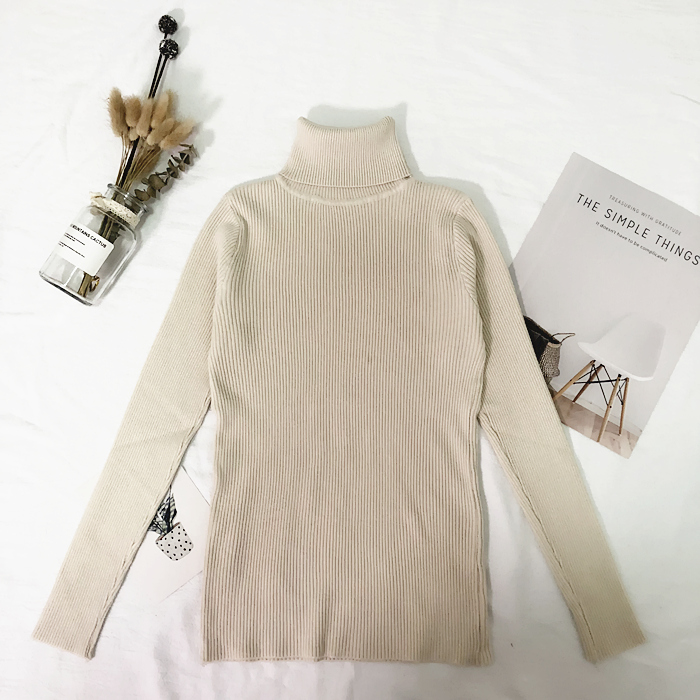 Womens Sweaters 19 Winter Tops Turtleneck Sweater Women Thin Pullover Jumper Knitted Sweater Pull Femme Hiver Truien Dames New 15