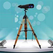 25/40*100 водонепроницаемый большой дальности гигантский телескоп, бинокль, просмотр 100 с деревянной треноге большой астрономический бинокль DH120