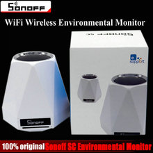 Sonoff SC WiFi Wireless Realtime Indoor Environmental Monitor Station Humidity Temperature Air