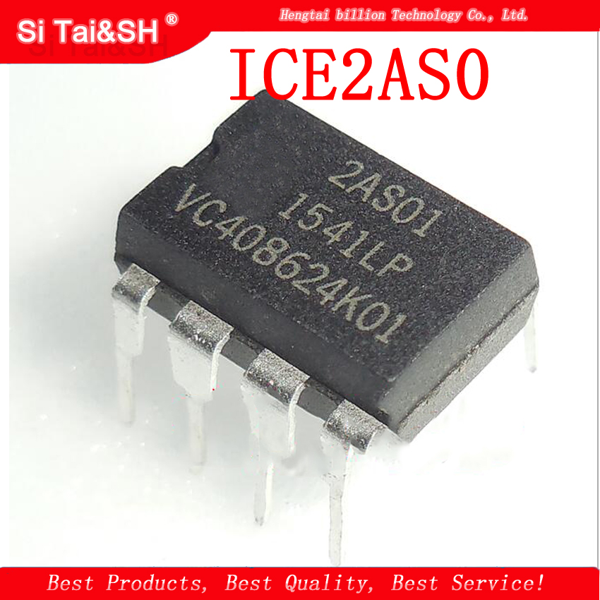 10pcs/lot ICE2AS01 2AS01 DIP-8 LCD Power Management Chip