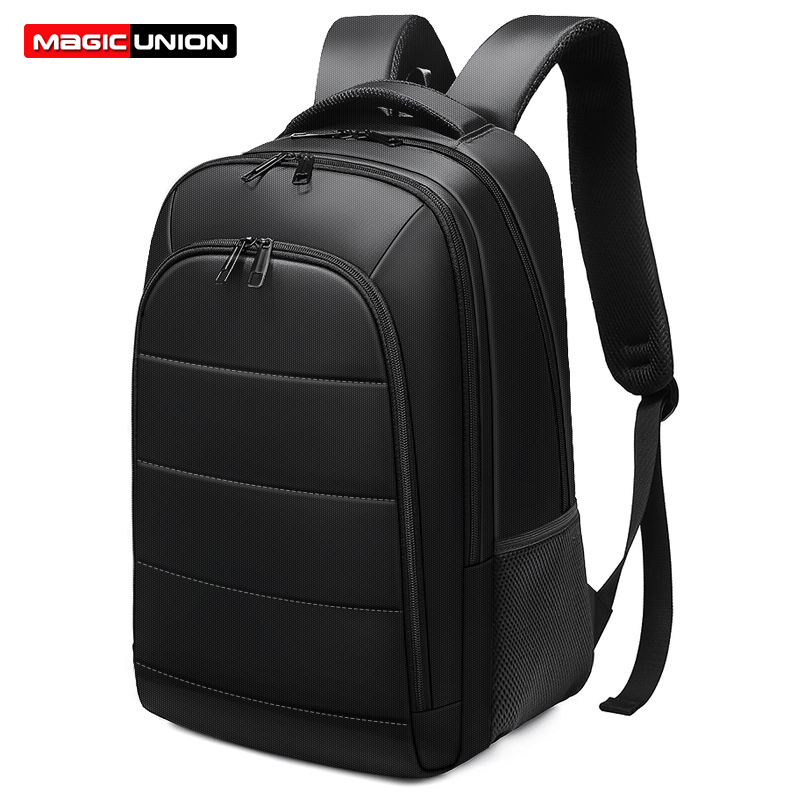 MAGIC UNION Men Business Style Backpack USB Charging Travel Bag Teenager Multi-layers School Backpack 15.6 inch Laptop BagpackMAGIC UNION Men Business Style Backpack USB Charging Travel Bag Teenager Multi-layers School Backpack 15.6 inch Laptop Bagpack