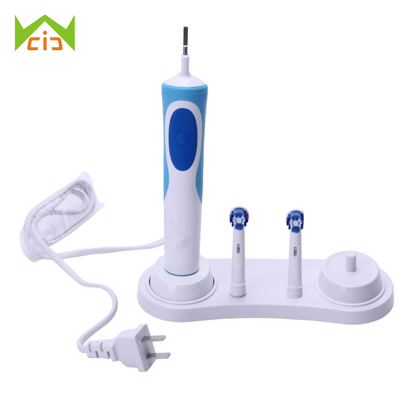 WCIC Bathroom Toothbrush Stand Electric Toothbrush Holder for Electric Toothbrush Support Teeth Brush Head Case image