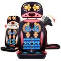China 220 V Actualización Del Producto Caliente Anti-estrés cuello espalda cuerpo Shiatsu Rodillo eléctrico de la Vibración dispositivo de masaje cojín de la silla