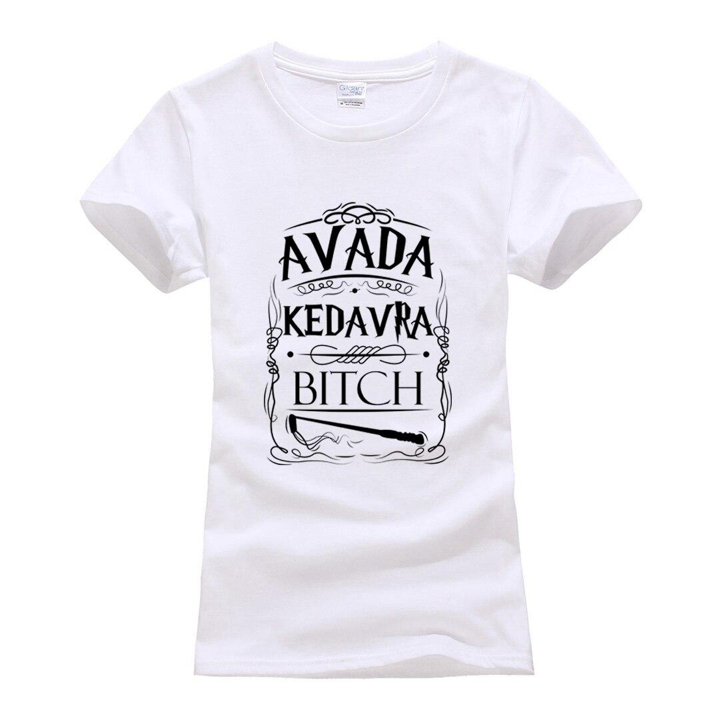 Avada Kedavra funny print women t-shirt 2019 Fashion harajuku cotton tee shirt femme summer cotton brand camisetas punk tops tee