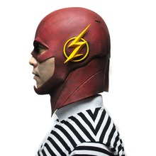 The Flash DC Movie TV Series Cosplay Costume Latex Mask
