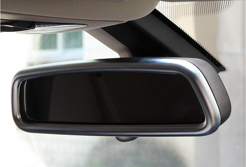 Car Styling!1pcs ABS Inner Upper Rear View Rearview Mirror Cover Frame Trim For Land Rover LR4 Discovery 4 2010-2015 коврики в салон land rover range rover evoque 2011