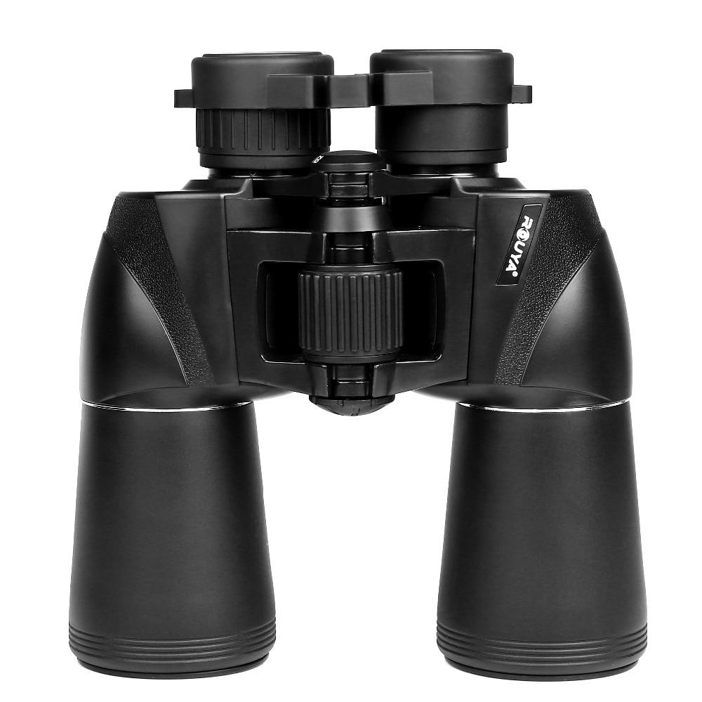 10x50HD Wide-angle Binoculars Powerful Russian Military Telescope Digital Compass Low-Light Level Night Vision Binocular hunting esdy 3013 20 x 50 magnification wide angle clear binoculars telescope black