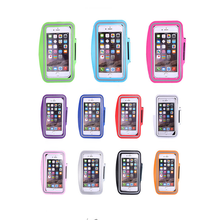 6 inch Cellphone Circumstances Sport Armband Arm Band Belt Cowl Operating GYM Bag Case For iPhone 6 7 6S Plus Cell