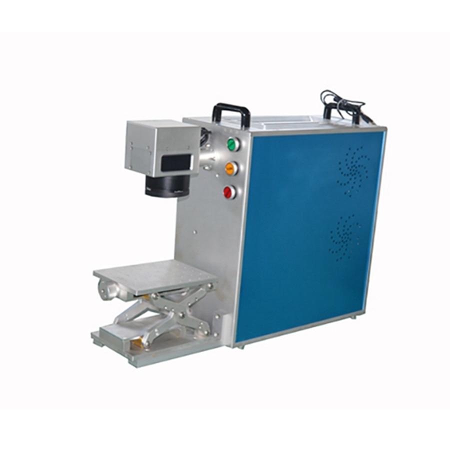 20W CE Potable Fiber Laser Marking Machine TS-20P For Air Cooling 110*110mm Working Size Fiber Laser Metal Marking Machine