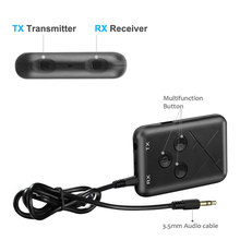 Bluetooth 4.2 Transmitter Receiver 2 in 1 Car Wireless Music Audio Adapter with 3.5mm Audio Cable USB Charging for TV DVD Mp3 PC new original black lcd display and touch screen touch panel digitizer assembly screw driver tools for thl w11 smart cell phone