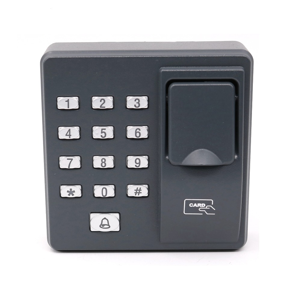 RFID 125KHz BIO Fingerprint EM4100 EM Card Access Control Standalone Access Contorl+10 Piece ID card 5pcs lot free shipping outdoor 125khz em id weigand 26 proximity access control rfid card reader with two led lights